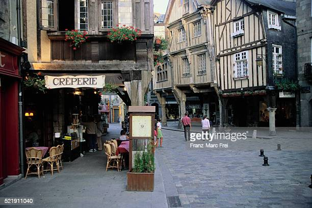 Creperie in Dinan, France