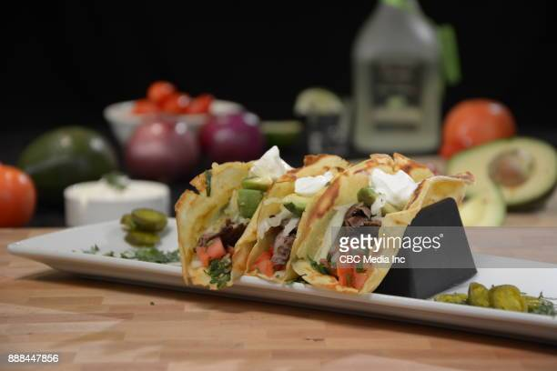 Crepes Beef Tacos