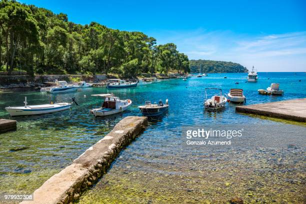 cres island in croatia - croatia stock pictures, royalty-free photos & images