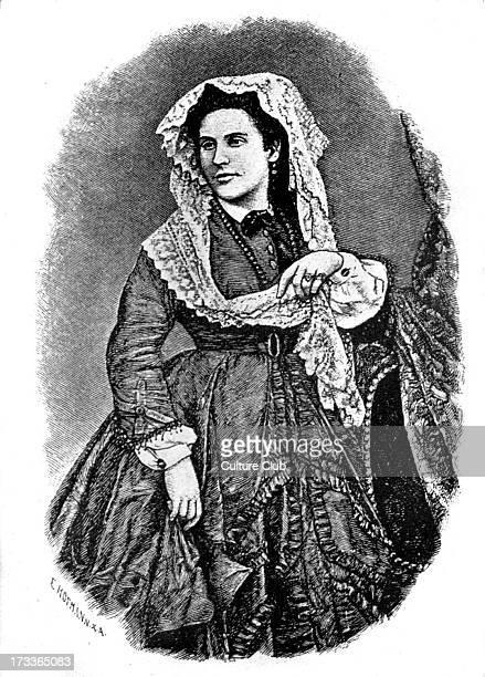 Crescence Eugénie Mirat wife of Heinrich Heine the nineteenth century German poet and journalist