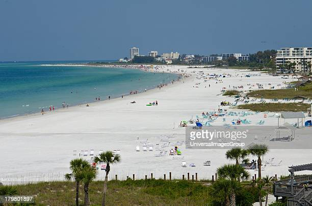 Crescent Beach, Siesta Key, Sarasota, Florida.