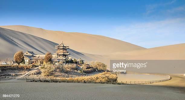 Crescent Lake, Dunhuang City, Gansu, China