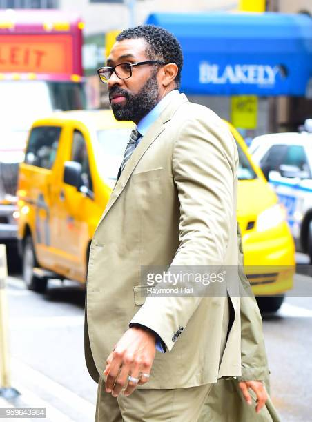 Cress Williams is seen walking in midtown on May 17 2018 in New York City