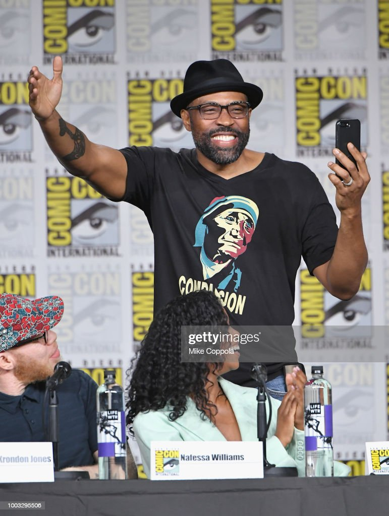"Comic-Con International 2018 - ""Black Lightning"" Special Video Presentation And Q&A"