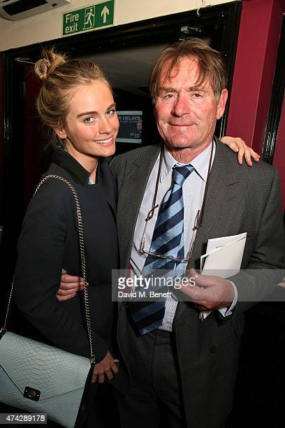 Cressida and Jeffrey Bonas attend the press night performance of 'An Evening With Lucian Freud' at the Leicester Square Theatre on May 21 2015 in...
