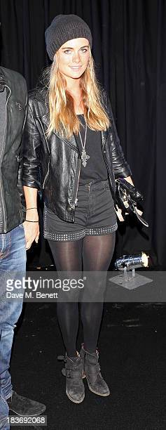 Cressida Bonas attends a party celebrating the launch of 28 Club a new night club in the basement of Morton's Private Member's Club in Berkeley...