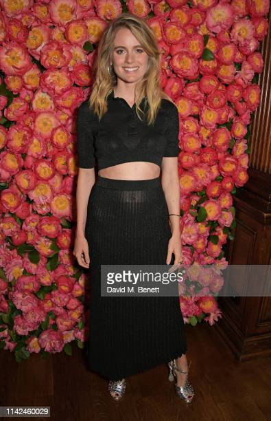 Cressida Bonas attends a private dinner hosted by Michael Kors to celebrate the new Collection Bond St Flagship Townhouse opening on May 9 2019 in...