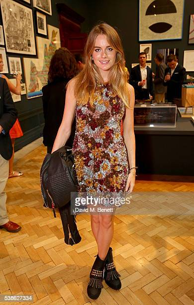 Cressida Bonas attends a VIP preview of the Royal Academy of Arts Summer Exhibition 2016 on June 7 2016 in London England