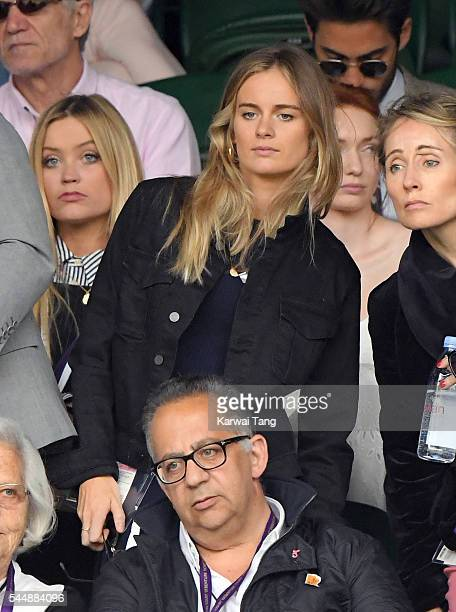 Cressida Bonas attends day eight of the Wimbledon Tennis Championships at Wimbledon on July 04 2016 in London England