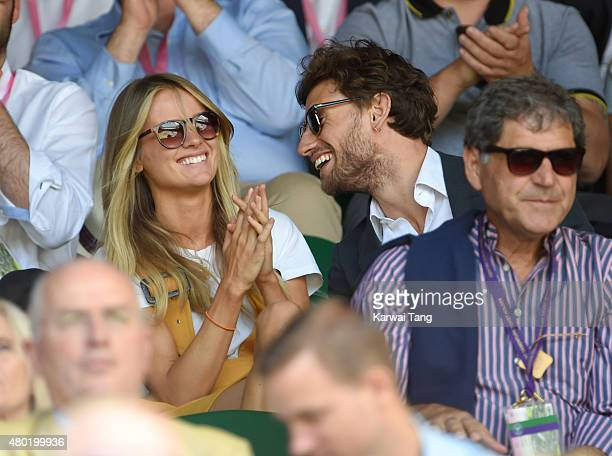 Cressida Bonas attends day eleven of the Wimbledon Tennis Championships at Wimbledon on July 10 2015 in London England