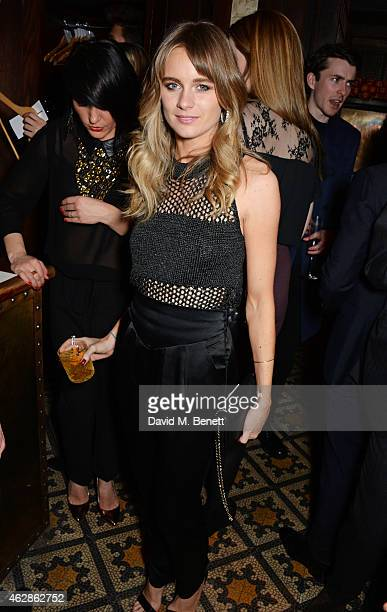 Cressida Bonas attends Harvey Weinstein's BAFTA Dinner in partnership with Burberry GREY GOOSE at Little House Mayfair on February 6 2015 in London...