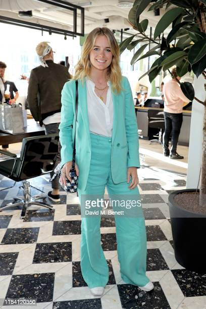 Cressida Bonas attends Hershesons x Harvey Nichols Space Opening on June 06 2019 in London England