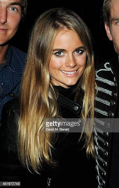 Cressida Bonas attends HOUSEKEEPING Seven Deadly Sins at KOKO Camden on November 23 2013 in London England