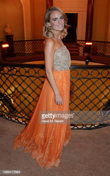 Cressida Bonas attends The 64th Evening Standard Theatre Awards at the Theatre Royal Drury Lane on November 18 2018 in London England