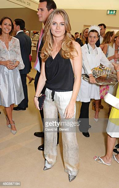 Cressida Bonas attends the Art Antiques London Gala Evening in aid of Children In Crisis at Kensington Gardens on June 10 2014 in London England