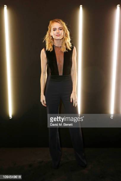 Cressida Bonas attends the dunhill PreBAFTA dinner at dunhill Bourdon House on February 6 2019 in London England
