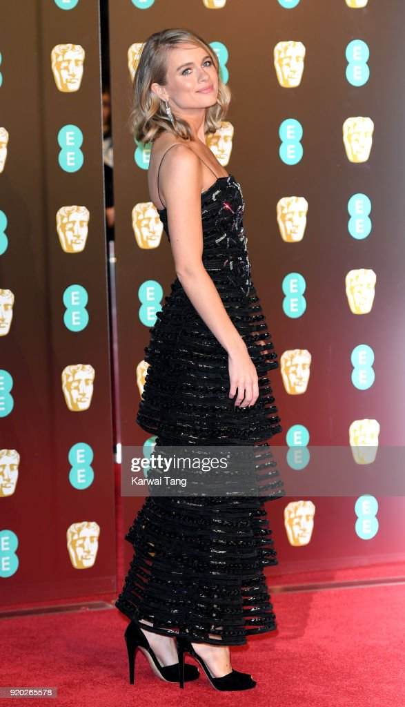 Cressida Bonas attends the EE British Academy Film Awards (BAFTAs) held at the Royal Albert Hall on February 18, 2018 in London, England.