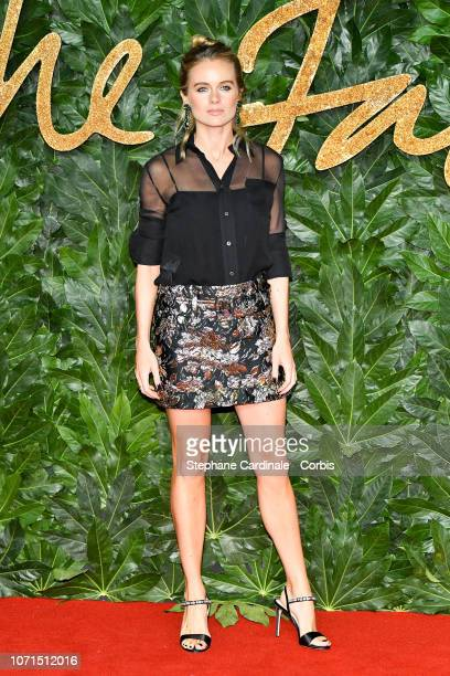 Cressida Bonas attends the Fashion Awards 2018 in partnership with Swarovski at Royal Albert Hall on December 10 2018 in London England