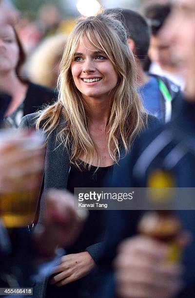 Cressida Bonas attends the Invictus Games closing ceremony at Queen Elizabeth Olympic Park on September 14 2014 in London England
