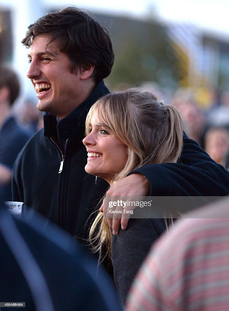 Cressida Bonas attends the Invictus Games closing ceremony at Queen Elizabeth Olympic Park on September 14, 2014 in London, England.