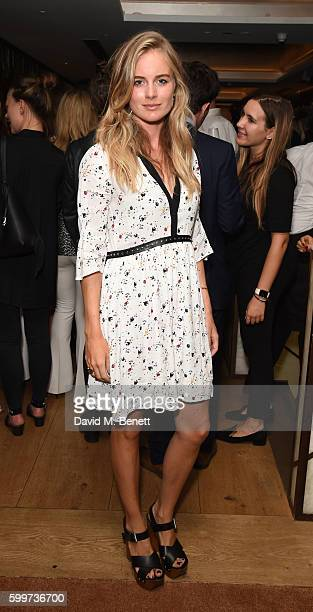 Cressida Bonas attends the launch party of QP Lounge the new bar and restaurant in Dover Street on September 6 2016 in London England