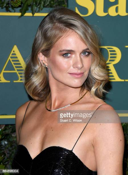 Cressida Bonas attends the London Evening Standard Theatre Awards at the Theatre Royal on December 3 2017 in London England