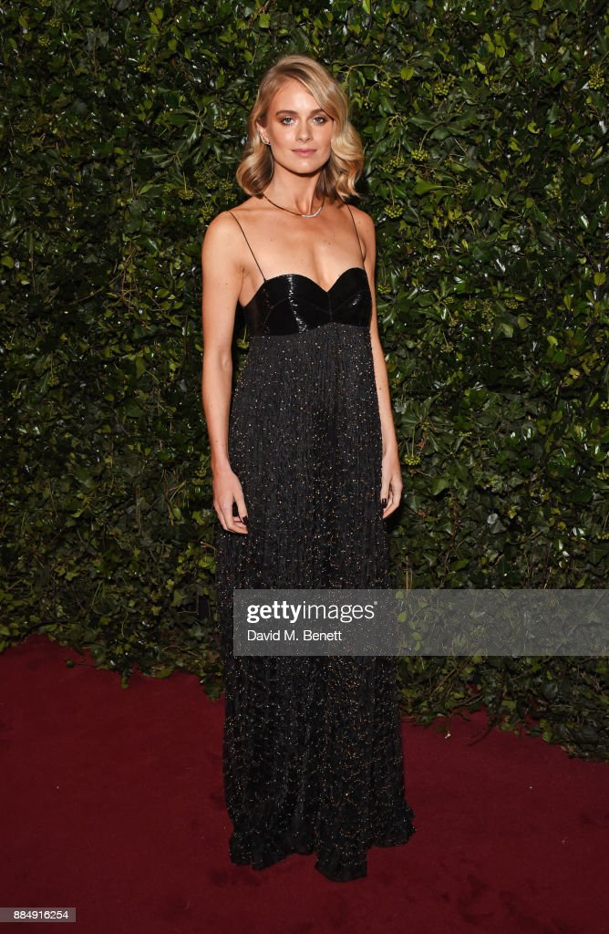 Cressida Bonas attends the London Evening Standard Theatre Awards 2017 at the Theatre Royal, Drury Lane, on December 3, 2017 in London, England.