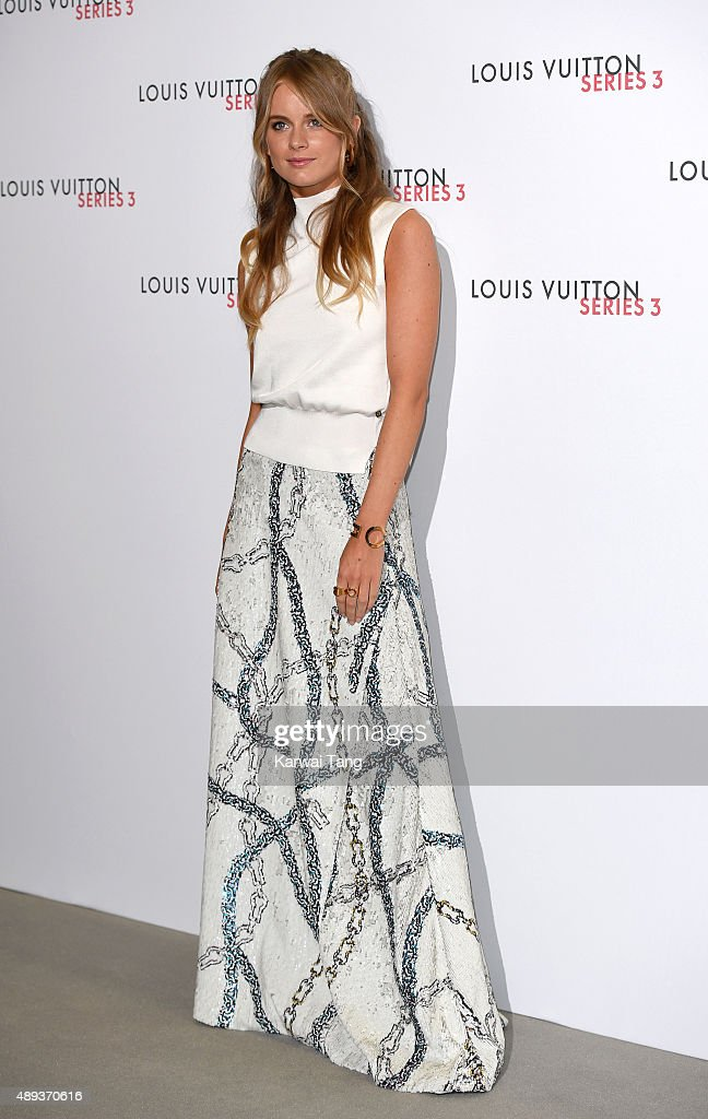 Cressida Bonas attends the Louis Vuitton Series 3 VIP Launch on September 20, 2015 in London, England.