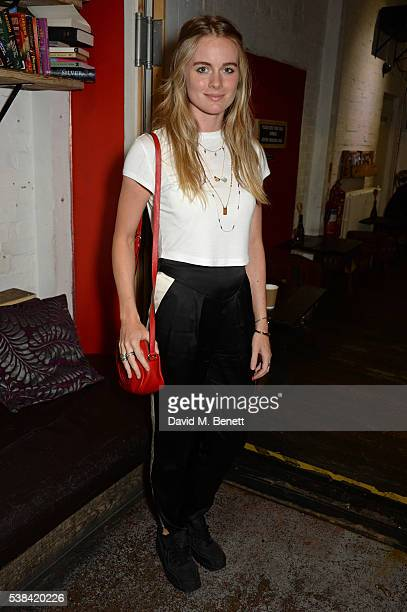 Cressida Bonas attends the press night after party for 'A Midsummer Night's Dream' at Southwark Playhouse on June 6 2016 in London England