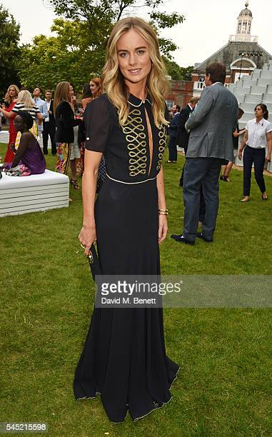 Cressida Bonas attends The Serpentine Summer Party cohosted by Tommy Hilfiger on July 6 2016 in London England
