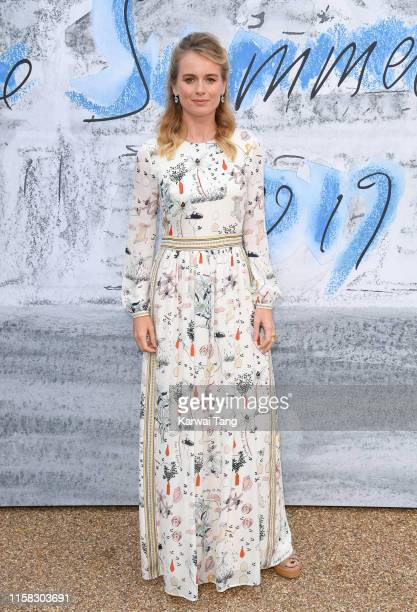 Cressida Bonas attends The Summer Party 2019 Presented By Serpentine Galleries And Chanel at The Serpentine Gallery on June 25 2019 in London England