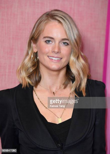 Cressida Bonas attends the UK premiere of 'Double Date' at The Soho Hotel on October 10 2017 in London England