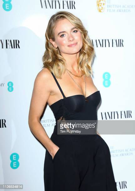 Cressida Bonas attends the Vanity Fair EE Rising Star Party at The Baptist at L'oscar Hotel on January 31 2019 in London England