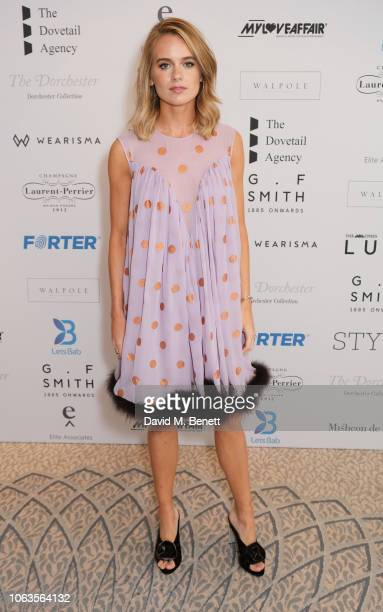 Cressida Bonas attends the Walpole British Luxury Awards 2018 at The Dorchester on November 19 2018 in London England