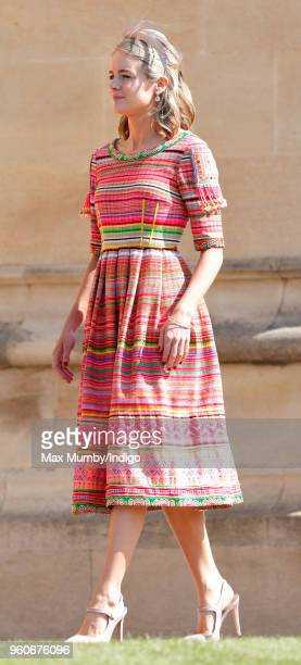 Cressida Bonas attends the wedding of Prince Harry to Ms Meghan Markle at St George's Chapel Windsor Castle on May 19 2018 in Windsor England Prince...