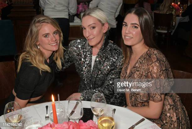 Cressida Bonas Olivia Buckingham and Amber Le Bon attend a private dinner hosted by Michael Kors to celebrate the new Collection Bond St Flagship...