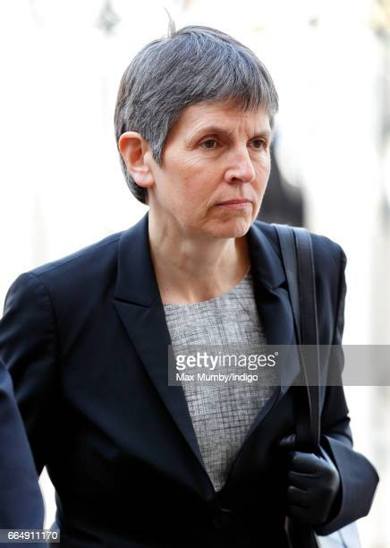 Cressida Dick attends a Service of Hope at Westminster Abbey on April 5 2017 in London England The multifaith Service of Hope was held for the four...