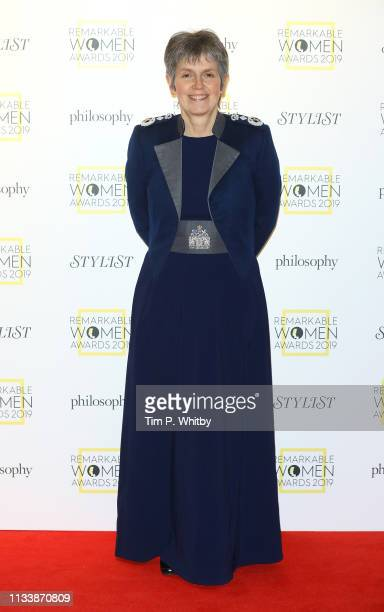 Cressida Dick attends the Remarkable Women Awards at Rosewood London on March 05 2019 in London England