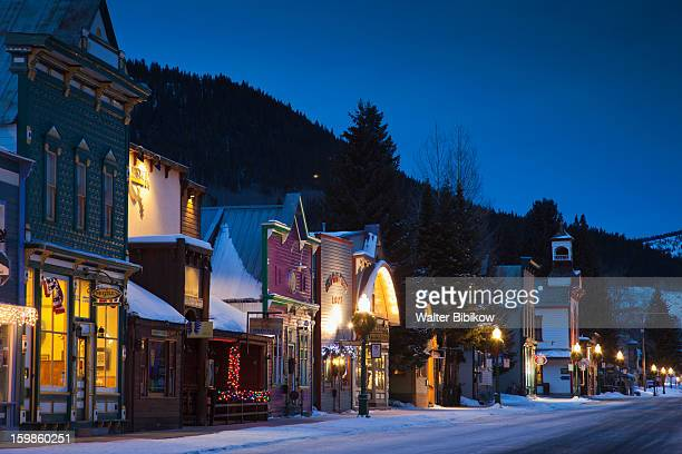 Crested Butte, CO, winter