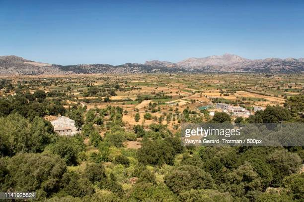 cretan landscape - wayne gerard trotman stock pictures, royalty-free photos & images