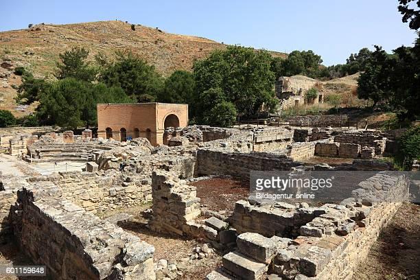 Crete GreekRoman excavation site Gortis