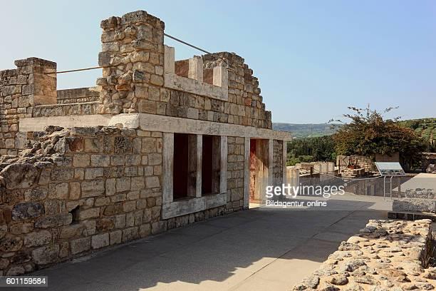 Crete Knossos palace complex of the Minoer part of the arrangement