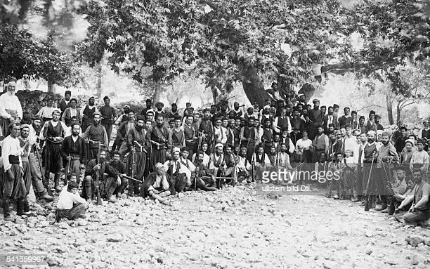 Crete, , military: group of Cretans - 1900Vintage property of ullstein bild