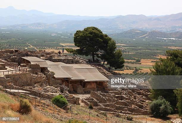 Crete Mionische palace excavation site Festos Faistos Phaistos