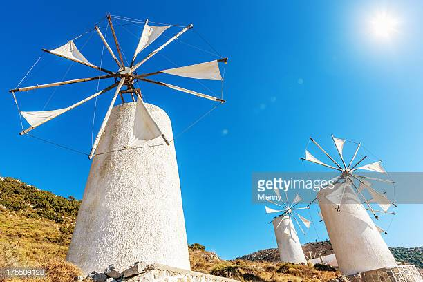 Crete Windmills Greece