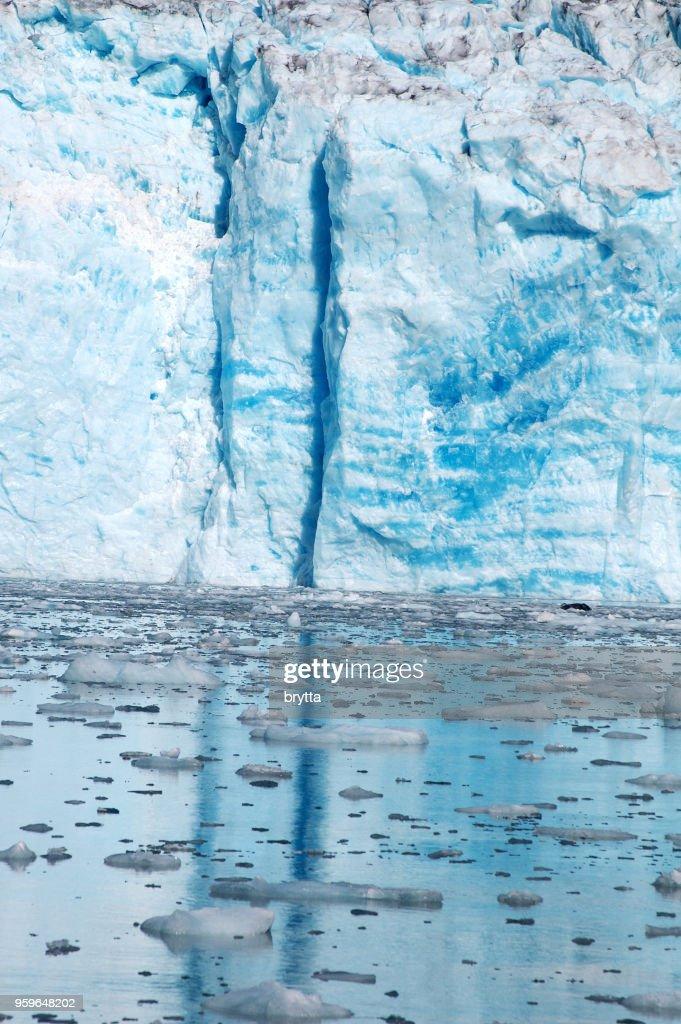 Klemmt im Gletscher : Stock-Foto
