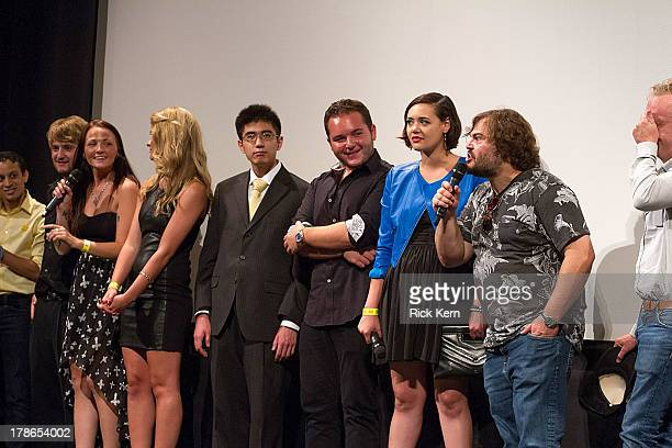 Crew and cast members attend the School Of Rock 10-Year Reunion screening at Paramount Theatre on August 29, 2013 in Austin, Texas.