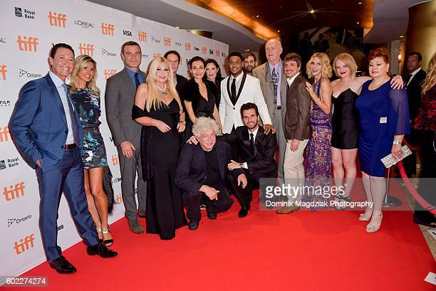 Crew and cast of 'The Bleeder' attend 'The Bleeder' premiere during the 2016 Toronto International Film Festival at the Princess of Wales Theatre on...