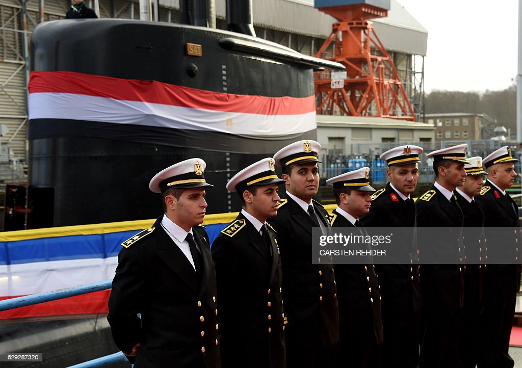 GERMANY-EGYPT-ARMAMENT-NAVY-SUBMARINE-SHIPYARD : Nachrichtenfoto