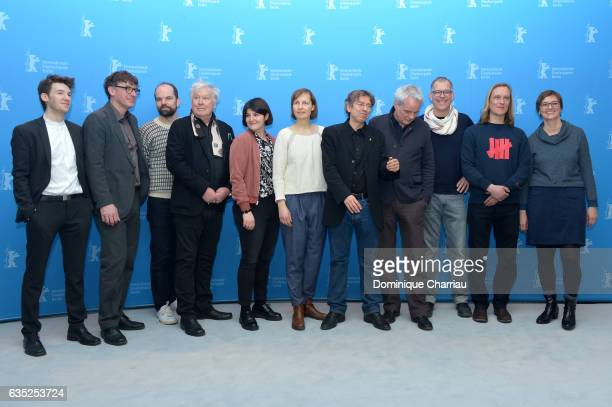 Crew members with Producer Melanie Berke director and screenwriter Andres Veiel producer Thomas Kufus editor Stephan Krumbiegel editor Olaf...